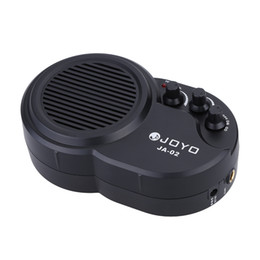 Wholesale High Quality JOYO JA W Mini Electric Guitar Amp Amplifier Speaker with Volume Tone Distortion Control