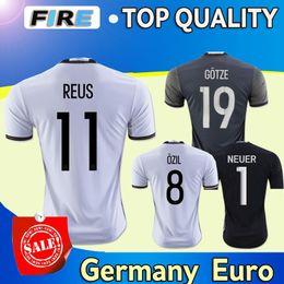 Wholesale Thai Quality men German European Cup REUS Home soccer Jerseys SCHWEINSTEIGER KROOS GOTEZ OZIL MULLER Soccer Wear shirts