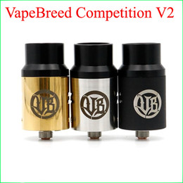 Vape Breed Atty Competition V2 3 colors VapeBreed atty v2 Can be installed 6 heating wire For 2016 NEW Electronic Cigarettes Atomizers