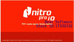 Wholesale Perfect Working Nitro Pro Enterprise Edition V10 For Win Bit English Version Full Function Professional PDF Software