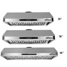 Wholesale THOR KITCHEN HRH3001U Stainless Steel Under Cabinet Range Hood CFM Kitchen Ventilator High Quality Baffle Filter US STOCK H17039