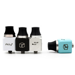 ATTY³ RDA ATTY 3 Atomizer WOTOFO Rebuildable Dripping Atomizers Clone Adjustable Airflow with Wide Bore Drip Tips DHL Free
