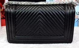 Chain bag women s handbag en Ligne-Nouveau sac de rabat extérieur de fermeture à glissière de sac à main de haute qualité de V