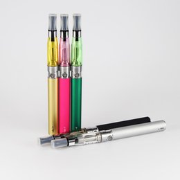 Wholesale CE4 eGo Blister Kits E Cig Electronic Cigarette Starter Kits Ce4 Atomizer mah mah mah ego t Battery in Blister Package Colorful