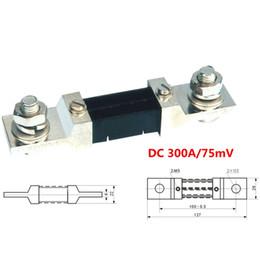 Wholesale DC A mV Setpoint Shunt Resistor A Digital Ammeter Gauge AMP Panel Meter shunt for Current Tester