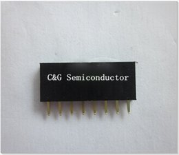 Wholesale x8 PIN Single Row Straight Female Pin Header Connector MM P