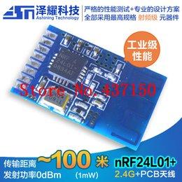 Wholesale X SMD wireless transceiver module nRF24L01 active RFID G wireless module class CC2500