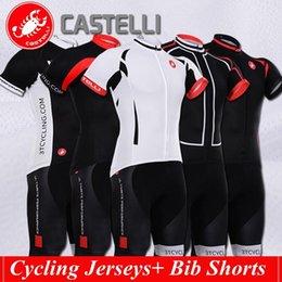 Wholesale 2016 Cast Tour De France cycling jerseys Short sleeves bib pants styles bike wear Quick Dry cycling jersey set XS XL