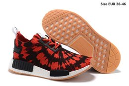 Wholesale NMD Sports Shoes Sell Like Hot Cakes Spider Web Design Fashion Casual Shoes Breathable With Leisure Sports Shoes Running Shoes