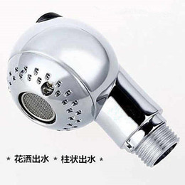 Wholesale Egg Shaped Switch Nozzle Hair Salon Shampoo Bed Accessories Barber Shop Wash Hair Basin Shower Faucet