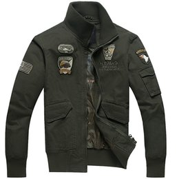 Wholesale AERONAUTICA MILITARE coat Italy brand jackets thermal clothing German uniform jacket Army Military Air Force One jacket XL