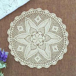 45 cm round centerpieces, cocheted table doily coasters for home decor, handmade table cover, vintage table topper for home decor