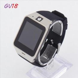 Brand New Smart Watch GV18,SIM Card External Memory Card Support,Bluetooth Version 3.0 ,Built-in Speaker Microphone Camer