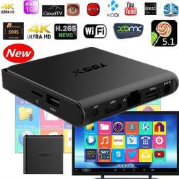 Wholesale Internet Tv Box Android TV box IPTV K KODI Custom Addons Amlogic S905X A53 GB GB T95X MINIX M8S