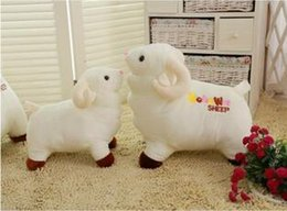 Wholesale Sheep lamb plush toy doll toy doll pillow queen Material PP cotton filling plush Plush classification