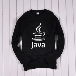 Wholesale for man and woman Programmers JAVA programming Terry sweatshirt it fans clothes