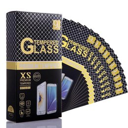 Wholesale Retail Package for Tempered Glass Screen Protector Colors Phone Screen Film Ten in One Box with Clean Tools
