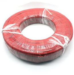 Wholesale 300M Electrical Wire Red Black Tinned Copper Pin Insulated PVC Extension LED Strip Electronic Cable Wire DIY Connect