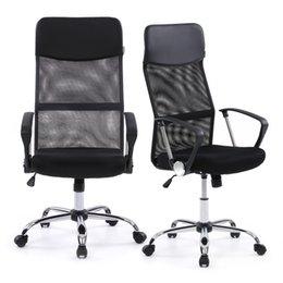 Wholesale IKAYAA Ergonomic Mesh Adjustable Office Executive Chair Stool High back Swivel Computer Task Chair Office Furniture US STOCK H16675