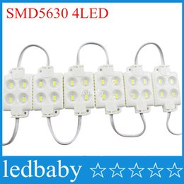 4 leds Injection 5630 led module led backlight DC12V Garland Waterprooffor Advertising sign and Channel Letter white