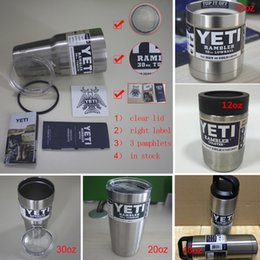 Wholesale 2016 kylie yeti cups Bilayer Stainless Steel Insulation Cup oz oz Cups Cars Beer Mug Large Capacity Mug Tumblerful