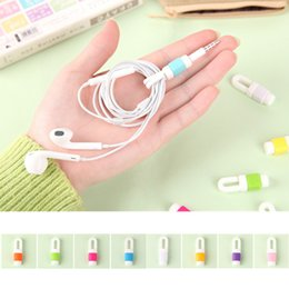 Earphone Cable Winder Earburd Wire USB Date Cable Organizer Hoder for iPhone iPad MP3 Headphone Tablet Wire Menagement