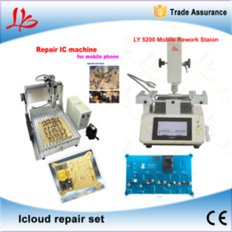 Wholesale Icloud repair set LY3040 IC CNC router LY mobile rework station Hard disk repair instrument Chip repair instrument best combination