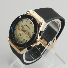 Wholesale Hot sell brand Automatic machinery Fashion high quality silicone and leather band Men Watches for in stock