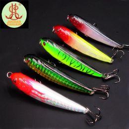 Wholesale 5pcs mini pencil fishing lure wobbler fit kosadaka yo zuri tackle cm g floating carp trout bait trolling fish ima hook F72