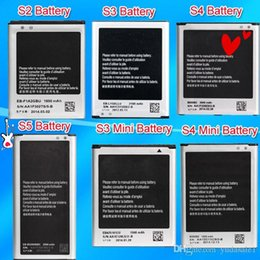Wholesale Can Mixed Order High Quality Phone S5 S4 S4 Mini S3 S3 Mini S2 Battery For Samsung Galaxy I9600 I9500 I9190 I9300 I8190 I9100 AkkuAccu