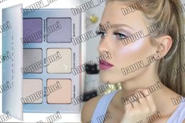 Wholesale Factory Direct DHL New Makeup Face Glow Kit Moon Child Metallic Powder Highlighters Colors Powder Palette
