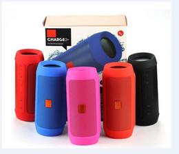 Wholesale Bluetooth Speaker Subwoofer Bluetooth Stereo Speakers Five Color Portable Wireless Mini Speaker LBJ Charge Speakers DHL free