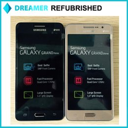 Wholesale Original Refurbished Galaxy Samsung G530H Grand Prime inch Dual SIM Quad Core GB RAM GB ROM MP Andriod4