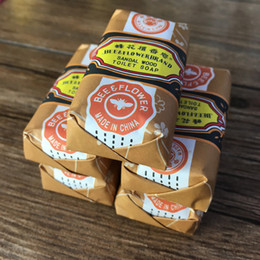Wholesale bee flower sandalwood soap g China s best ancient perfume soap acne soap bath soap removing mites soap