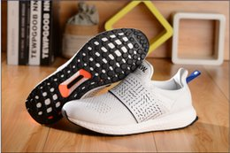 Wholesale The newest arrival Ultra Boost x Wood Wood White and black running shoes for Men Sports shoes sneaker