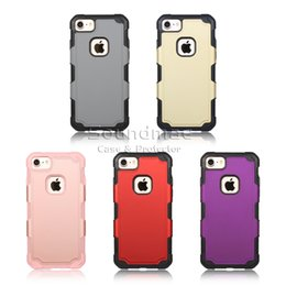 Wholesale iphone Plus Note Hybrid Combo Case LG K10 G5 LS775 Zone iphone s plus Samsung TPU PC hybrid Back Cover Case iphone plus OPP bags