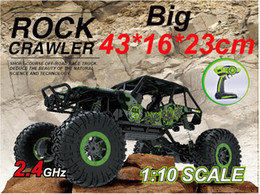Wholesale Big guy RC Car G CH WD Rock Crawlers Double Motors Drive Car x4 Driving Car Remote Control Off Road Vehicle Toy