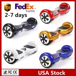 6.5 inch Hover Board Smart Scooters Electric Skateboard Self Balancing Wheel no Bluetooth Balance Scooter Two Wheels USA Stock Factory Price