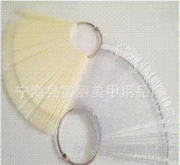 5pcs / lot New 50pcs / set Nail Imitation plastique naturel Art Conseils Memory Stick Affichage pratique de la Commission Fan Nail Art Display # FA01054 + ABS à partir de pratique bord du ventilateur clou fabricateur