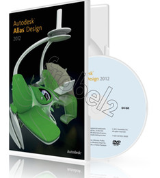 Wholesale Factory Full cracked Autodesk Alias Design English for win version DVD English Language software Plastic color box packaging
