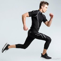 Wholesale 2XU compression leggings basketball ball running fitness training pants of minutes of pants quick drying