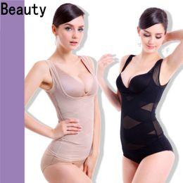 Wholesale Comfortable Breathable Women Underwear Ultrathin Breast Care Abdomen Accept Waist Gril Shapewear Women Body Sculpting Underwear Vest