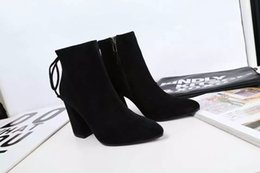 Wholesale new arrival fashion women high quality leather designer stuart casual short boot heel height cm size