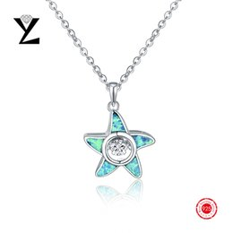 Wholesale Best Price Sterling Silver Fire Opal Jewelry Star Pendant Gold Plated for Women Birthday Wedding Christmas s Day Gifts
