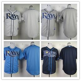 Wholesale MLB baseball Jerseys Tampa Bay Rays LONGORIA MYERS PRICE DAVIS NO NUMBER freeshipping
