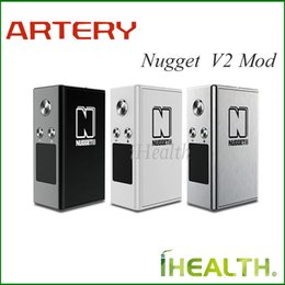 Wholesale Artery Nugget V2 Box Mod w Nugget II TC Mod with mah Built in Battery Firmware Upgradeable Original