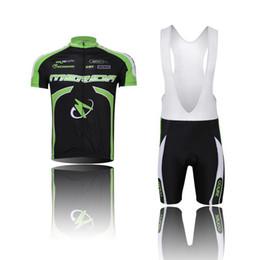 Ciclismo camisa de mérida en Línea-¡¡al por mayor!! Ropa de ciclo de la bici de Jersey de la bici del jersey del cortocircuito del desgaste de ciclo del verde del merida de los hombres