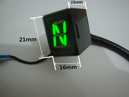 Wholesale 2016 new hot sale Red LED Universal Digital Gear Indicator Motorcycle Display Shift Lever Sensor