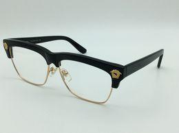 Wholesale luxury brand Medusa eyeglass vs5164 frame fashion men eye frame brand designer prescription glasses retro vintage semi rimless frame