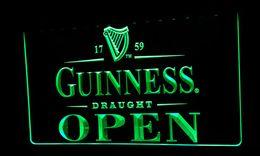 LS475-g Guinness Draught Beer OPEN Bar Neon Light Sign